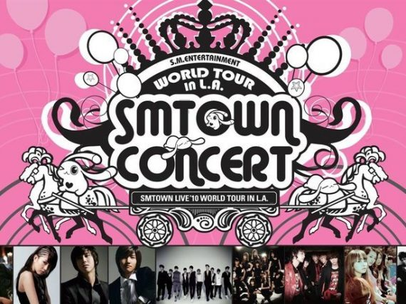 SMTown World Tour 2010 Los Angeles