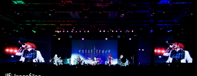 Female visual kei band exist†trace performs for 3000 fans at Sakura-Con 2011