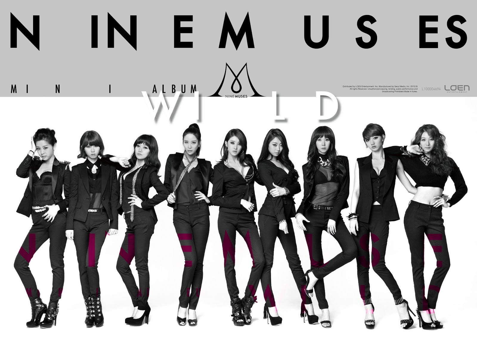 9 Muses Wild Banner