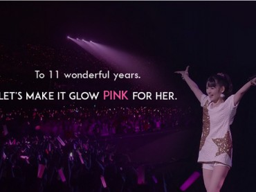 A Gift to Michishige Sayumi: Let's Make the Best Buy Theater Glow Pink!