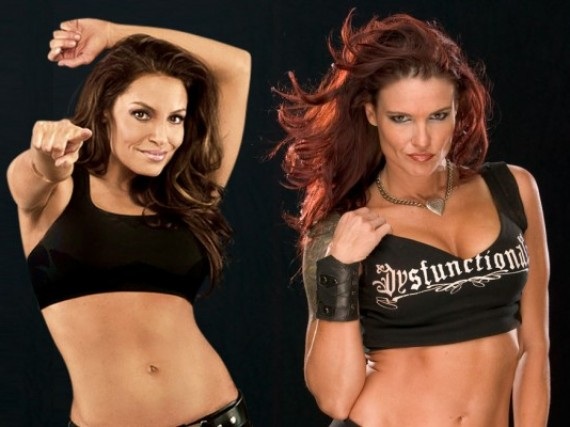 Interview with Trish Stratus and Amy Dumas