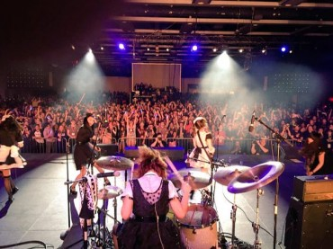 BAND-MAID Previews New Album at Sakura-Con 2016