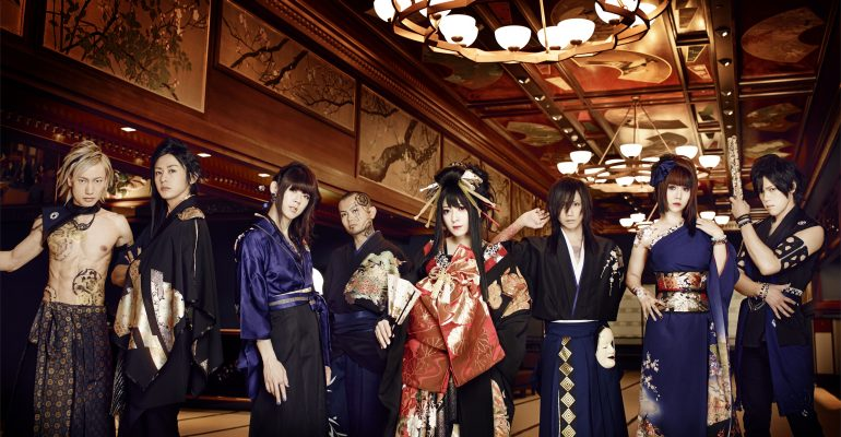 "WagakkiBand Announce First Ever California Tour ""Deep Impact"""