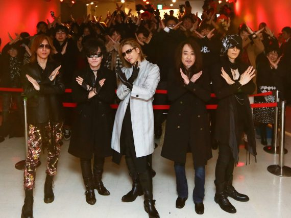 We Are X In-Store Signing Event at Tower Records/Yoshiki Wows Fans With Surprise Visit