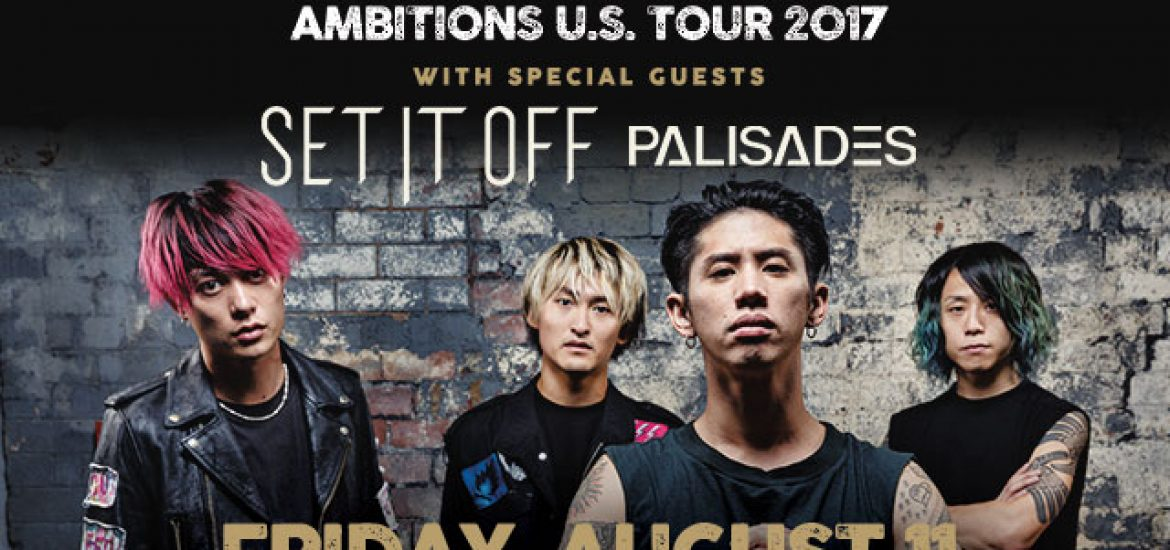 Reminder: ONE OK ROCK Returns To Los Angeles For Back To Back Shows August 11 & 12