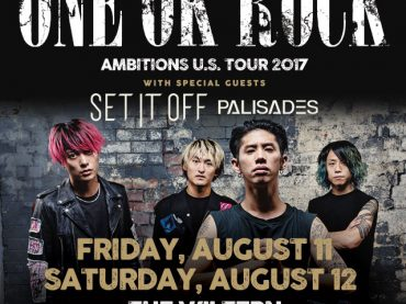 ONE OK ROCK Returns To Los Angeles For Back To Back Shows August 11 & 12