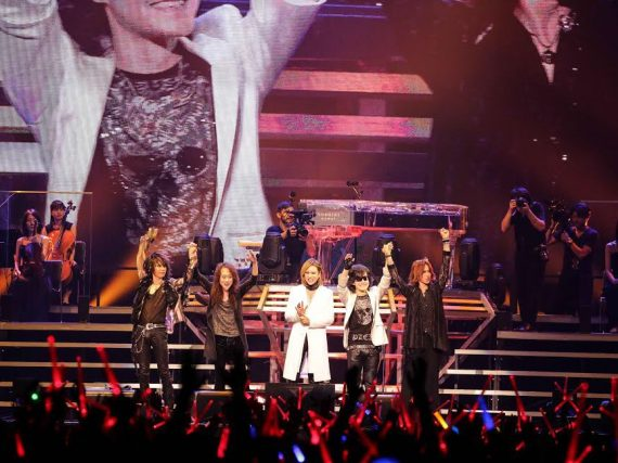 X Japan launches Acoustic Miracle tour in Osaka