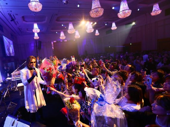 Evening With Yoshiki Premium Dinner Show 2017 begins in Nagoya