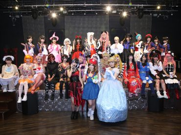 Kamen Joshi celebrates Halloween Night 2017 in Akihabara
