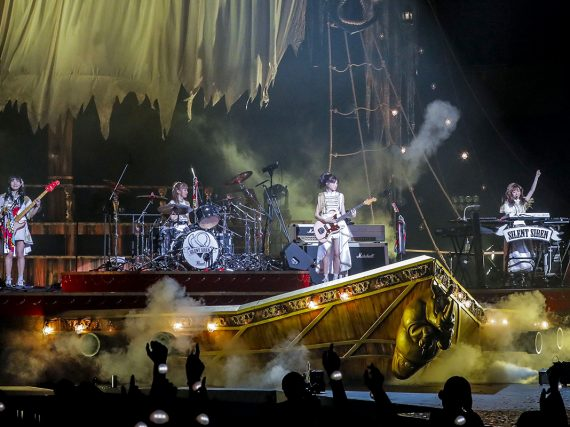 SILENT SIREN sets sail for night of miracles at Budokan