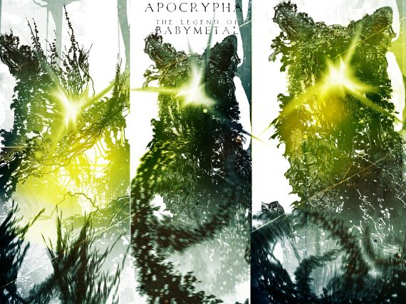 BABYMETAL reveals A!SMART variant cover for APOCRYPHA graphic novel