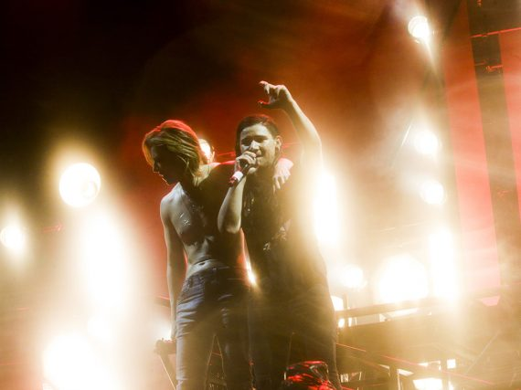 YOSHIKI makes surprise Fuji Rock appearance with Skrillex
