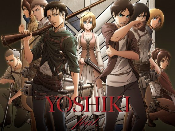 YOSHIKI releases Instagram preview of new Attack on Titan theme