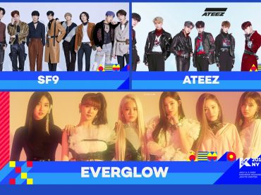 ATEEZ, SF9 and EVERGLOW Join the Lineup for KCON New York
