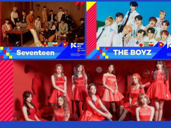 SEVENTEEN, THE BOYZ and fromis_9 Join The Lineup for KCON New York