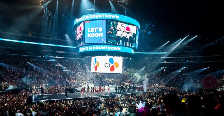 Korean Pop Culture Fans Take Over Downtown Los Angeles with over 100,000 in Attendance at KCON 2019 LA