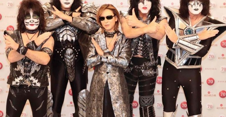 YOSHIKI and KISS will collaborate for once-in-a-lifetime New Year's Eve television performance