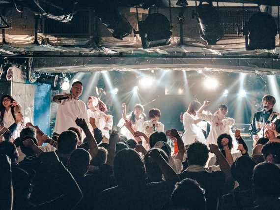 BACK-ON performs live Fairy Tail collaboration with OSAKA☆SYUNKASYUTO at Shinjuku Loft